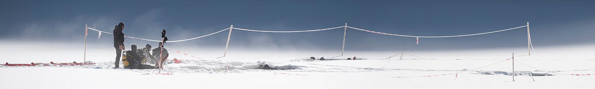 Plongée sous glace, Lac de Montriond