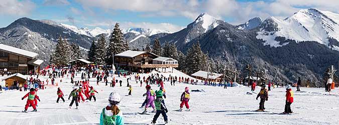 Ski alpin vall e d 39 aulps s jour ski en haute savoie - Office du tourisme saint jean d aulps ...