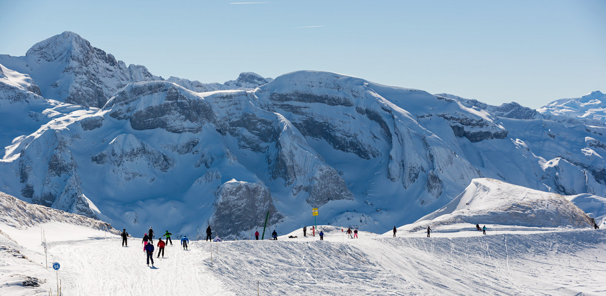 Le domaine skiable - Domaine skiable les portes du soleil ...