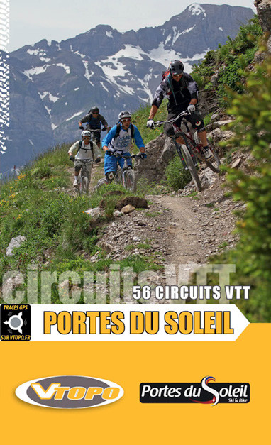 Mtb maps and topography - Multi pass portes du soleil ...