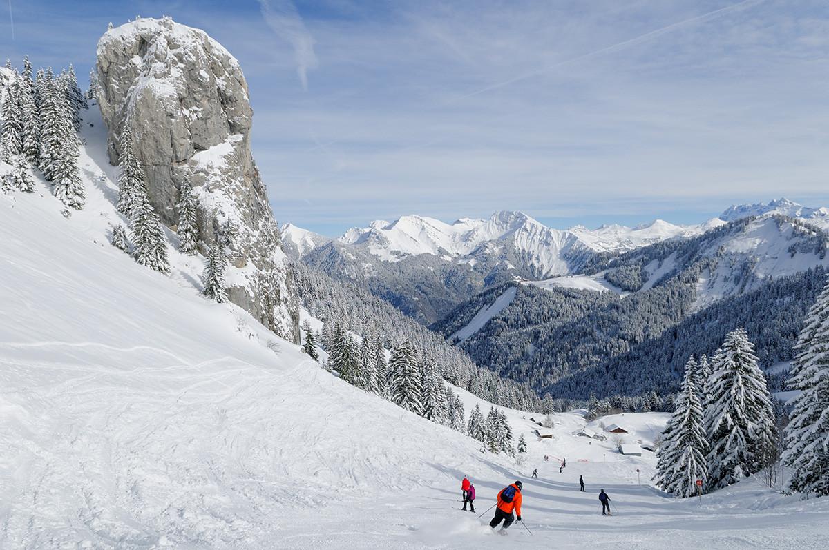 Domaine skiable de saint jean d 39 aulps roc d 39 enfer - Office du tourisme saint jean d aulps ...