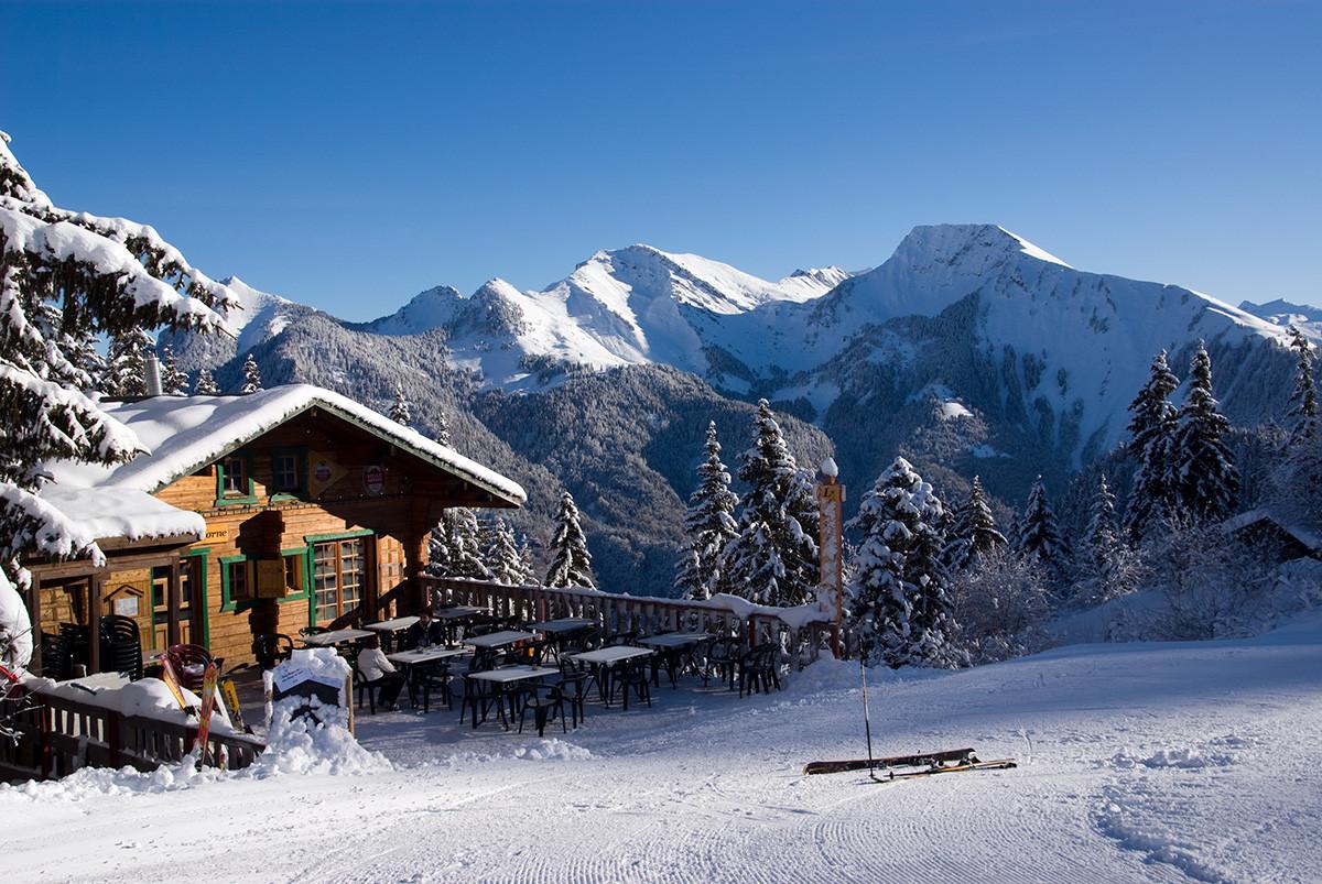 Domaine skiable de saint jean d 39 aulps roc d 39 enfer - Saint jean d aulps office du tourisme ...